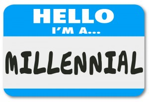 hello im a millennial name tag